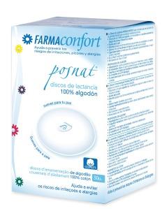 Discos_lactancia_posparto_postparto_POSNAT_Farmaconfort_algodon_mujeres_parto_embarazo_lactancia_bebes_pechos_salud